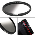 Zomei Universal 49/52/58/67/72/77MM Super Slim Lightweight Graduated Grey Neutral Density ND Optical Filter For Camera
