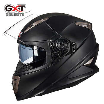 Winter White dinosaurs GXT Double lens Full Face Motorcycle Helmet ,men moto motorbike helmet with Built-in lens can be hidden - DISCOUNT ITEM  5% OFF All Category