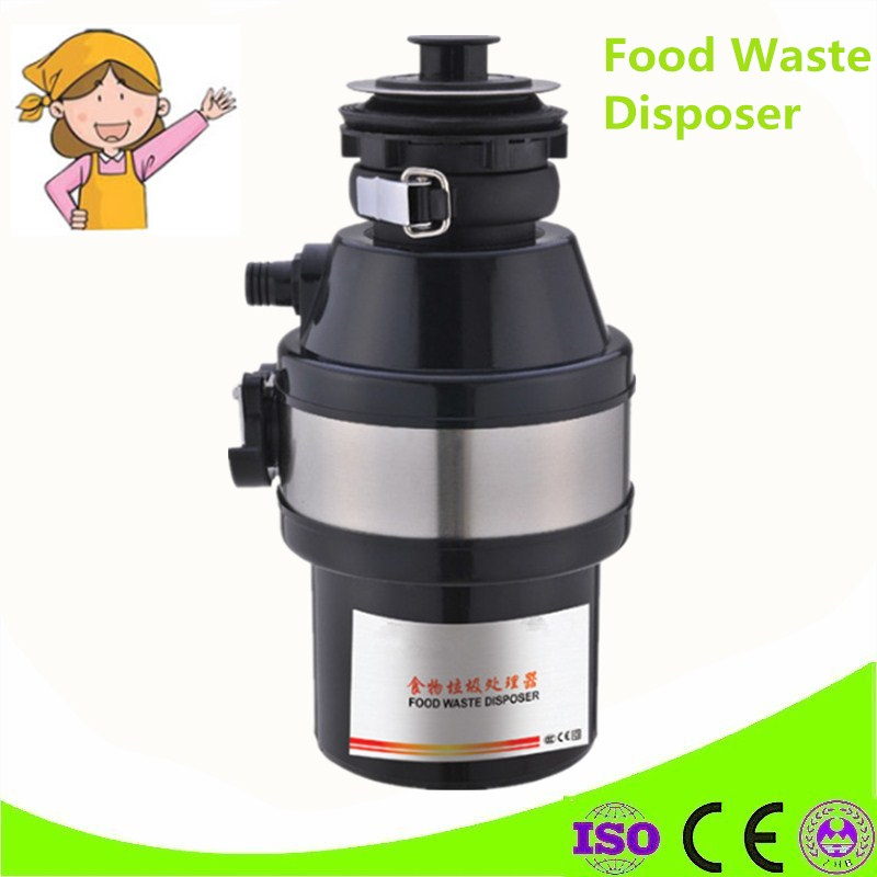 High Quality Stainless Steel Grinder Material Newest Kitchen Food Processor Garbage Disposal Crusher Food Waste Disposer water bottle