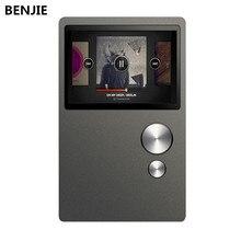 2016 BENJIE BJ-T1 Lossless Audio de Alta Fidelidad Portátil Reproductor de Música MP3 8 GB de 2.4 pulgadas de la Ayuda 128 GB TF Tarjeta 24 Idiomas Del Menú grabación