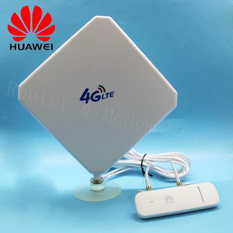 Débloqué nouveau Huawei E3372 E3372h-607 avec antenne 4G LTE 150 Mbps Modem USB 4G LTE USB Dongle E3372h-607