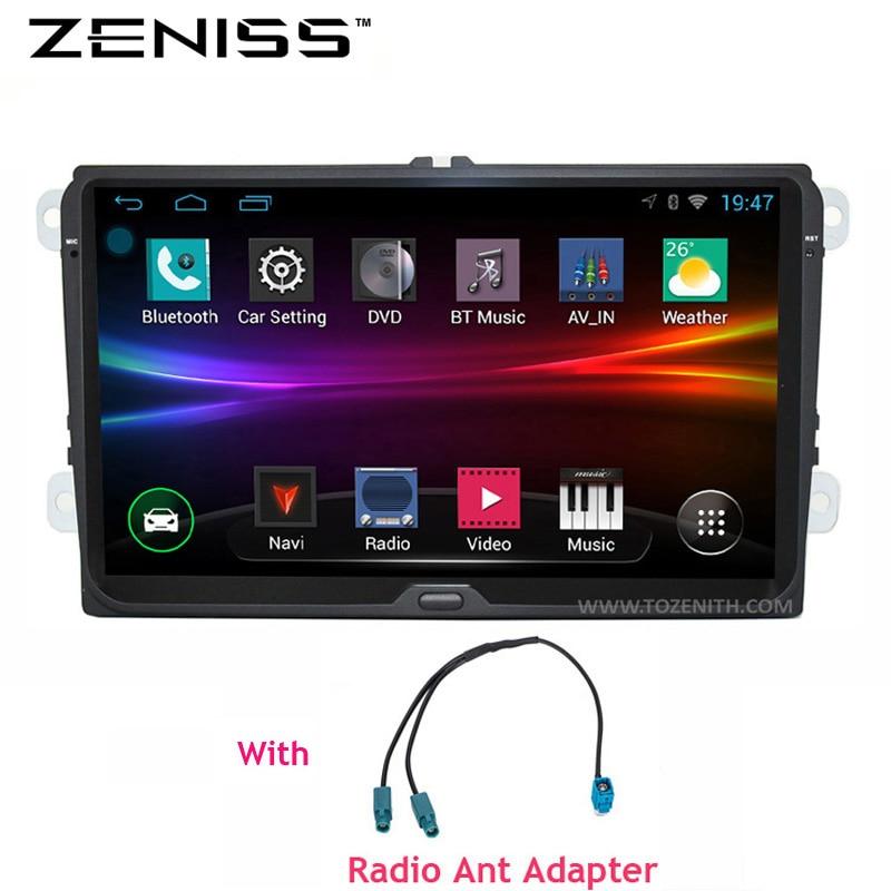 imágenes para ENVÍO LIBRE Android 9 pulgadas B6 B5 B7 Passat Coche Navegación GPS sin DVD Para El Golf VW GPS Para VW Polo Car Stereo Radio GPS 67 S