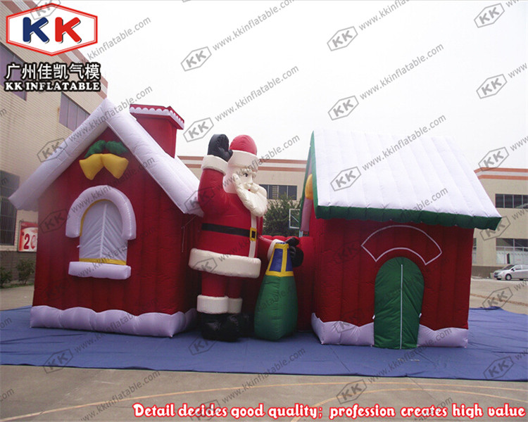 new christmas decorations baby inflatable christmas house ...