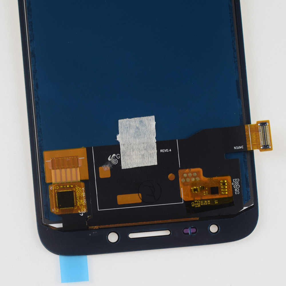 قابل للتعديل لسامسونج J2 برو 2018 J250 LCD J250F J250H J250M جهاز مراقبة بشاشة إل سي دي وحدة + شاشة تعمل باللمس الاستشعار الجمعية