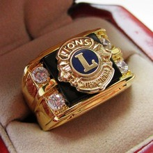 "Hot Selling Lab Onyx 18kT Gold Filled, NEW! Gents ""Scottish Rite 14 Degree Masons"" CREST Ring"