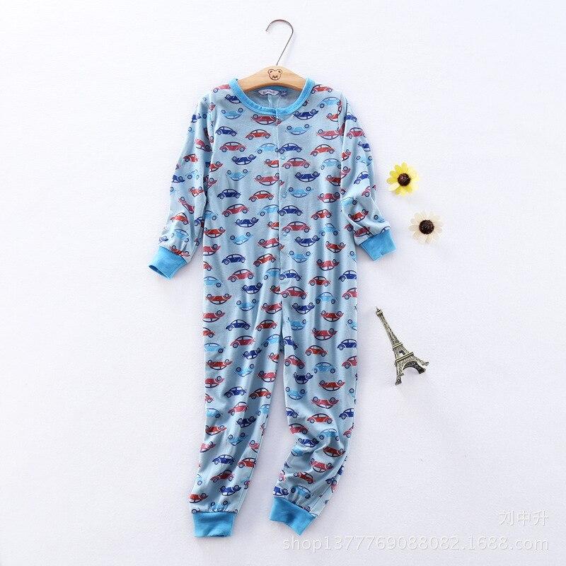 free shipping purekids boys sleepwear onepiece blanket sleepers cotton children underwear overall kids thin pajamas jumpsuit 2