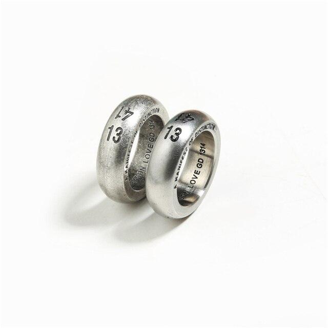 Фото мужской комплект ювелирных изделий из кольца и браслета нержавеющей