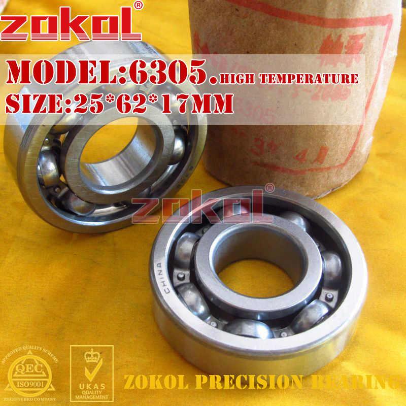 ZOKOL 6305RS แบริ่ง 6305 2RS ฿ Z2V2 6305-2RSN Deep Groove ball bearing 25*62*17 มม.