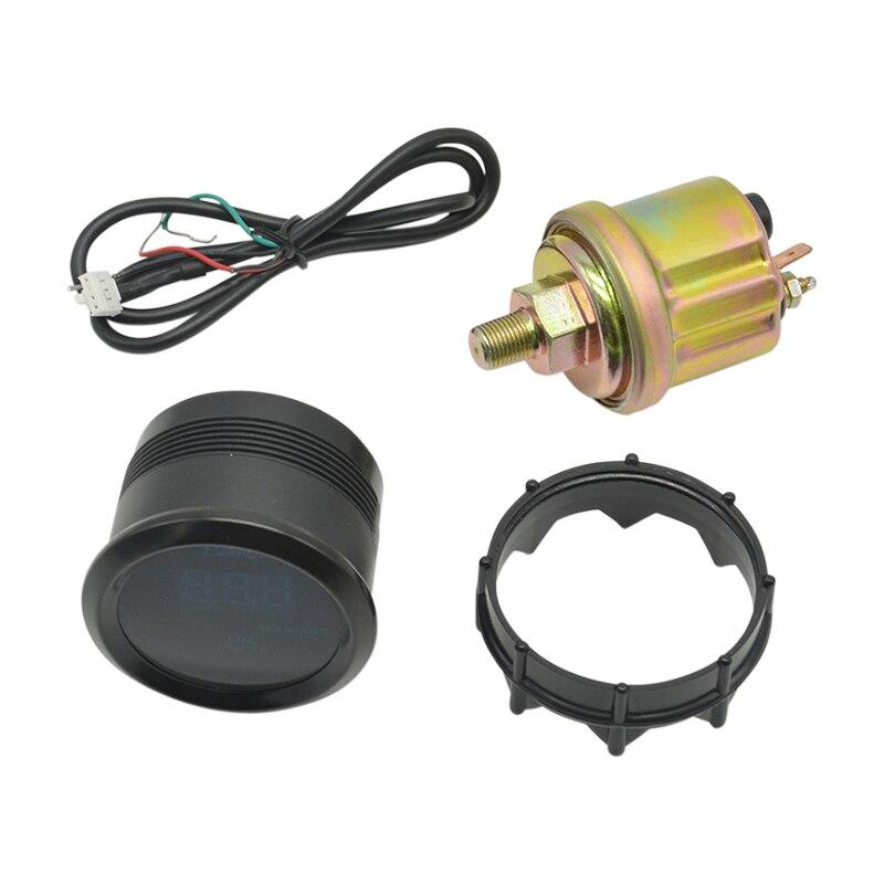 retroiluminacao medidor de pressao oleo carro meterl 0 150 psi 05