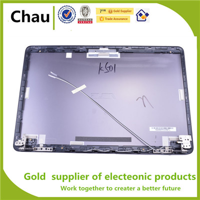 New Original Rear Display Back Cover Lcd Cover Assembly For ASUS K501 V505L A501 N501 K501LB Blue Metal Is Not Plastic