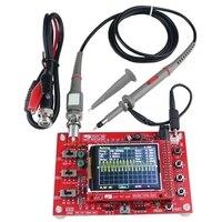 2.4 인치 Tft 디지털 오실로스코프 1Msps 키트 부품 오실로스코프 만들기 전자 진단 도구 학습 세트 Dso138 + P6040