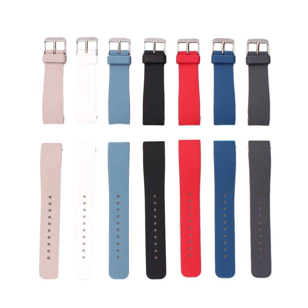 20MM Top Quality Luxury Silicone Rubber Watch Band Strap For Samsung Galaxy Gear S2 SM-R732 Watchband Replacement Accessory