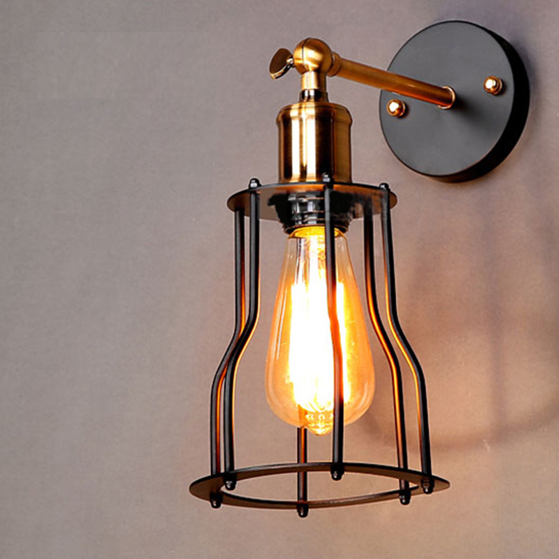 Small Industrial Wall Lights : Aliexpress.com : Buy Free shipping Vintage Industrial Lighting wall Lights E27 Country Small ...