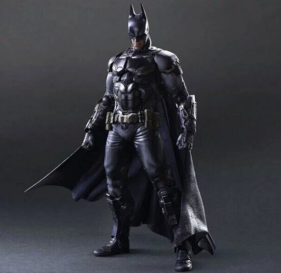 ФОТО 1pcs Anime character Avengers Removable Batman action pvc figure toy tall 26cm in box.