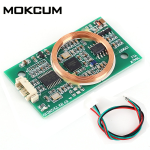 Image 2 - DC 5V RFID Wireless Module UART 13.56MHz 125KHz for IC/ID/ Card Dual Frequency Read Write For Arduino