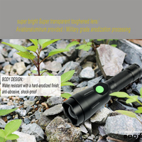 UniqueFire 1603 38 IR 850nm Rechargeable USB LED Flashlight Adjustable Focus 4 Modes Infrared LED Torch