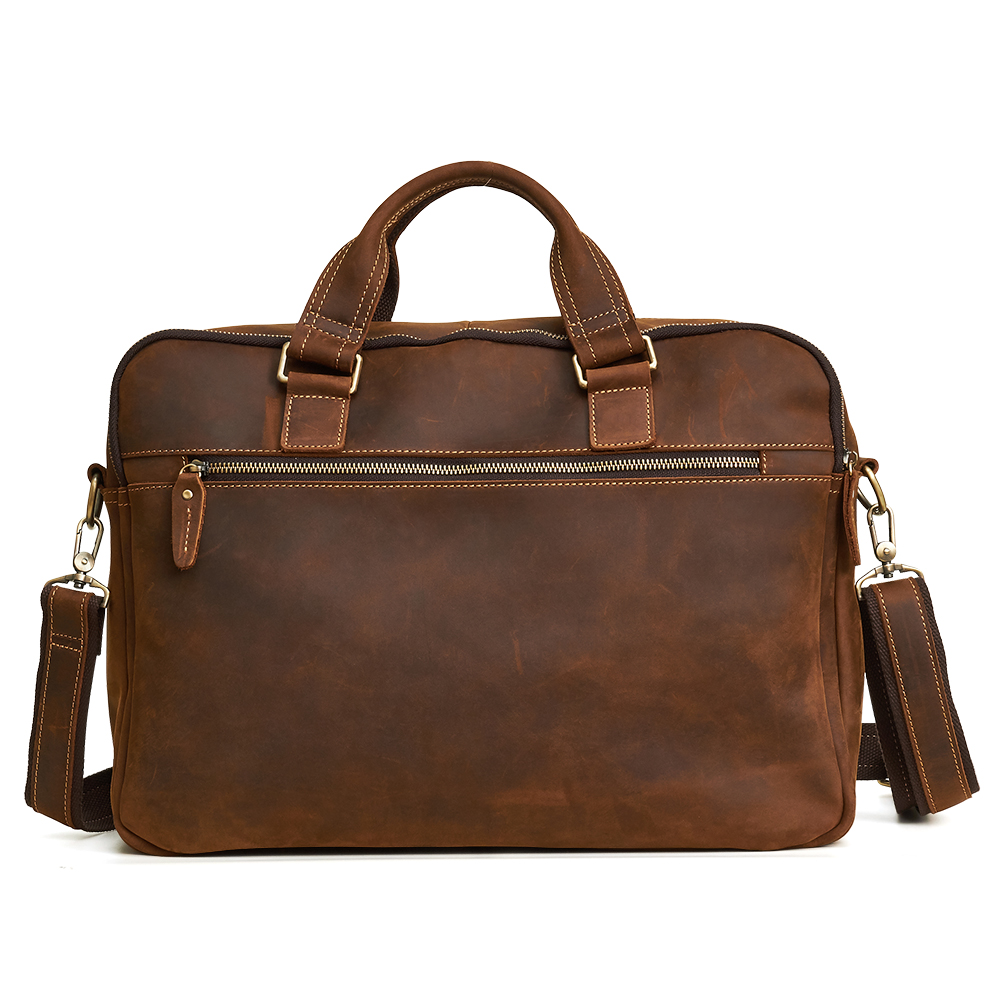 En Joyir Cuir D'ordinateur Serviette D'affaires Sac Hommes Véritable De D'épaule Bandoulière blue Brown Messenger Portable Coffee Main deep À black Mâle Xrq0wIrn1x
