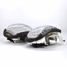Tampas de luz Para Honda GL 1800 GL1800 2001-2010 Goldwing Lente Sinal de volta Da Motocicleta Acessórios 2002 2003 2004 2005 2006