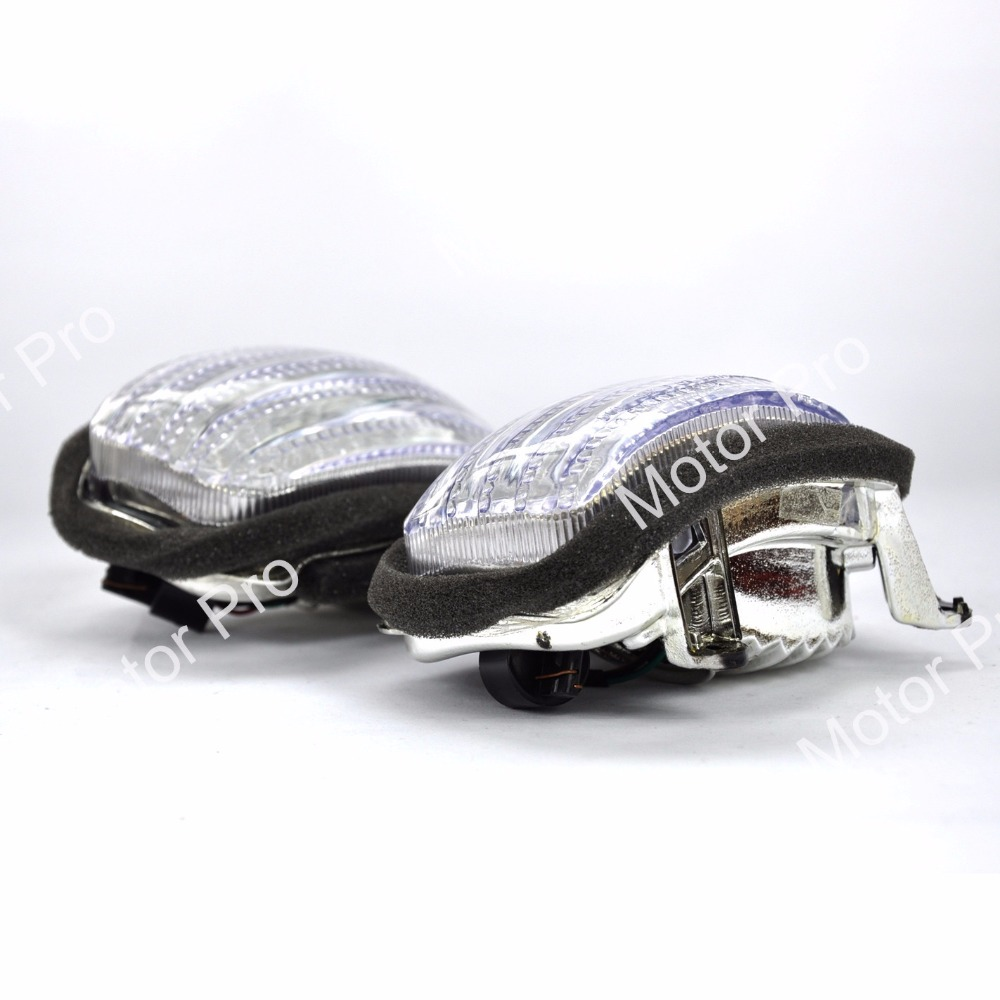 Light Covers For Honda GL 1800 GL1800 2001 2010 Goldwing Turn Signal Lens Motorcycle Accessories 2002 2003 2004 2005 2006