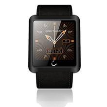 Armbanduhr Bluetooth Smart Uhr Sport Pedometer Anti-hilang Smartwatch für IOS Android Smartphones U10L Btter Als U8
