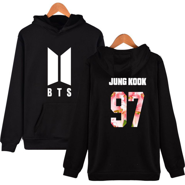 BTS Popular Kpop Harajuku Hoodies for Women