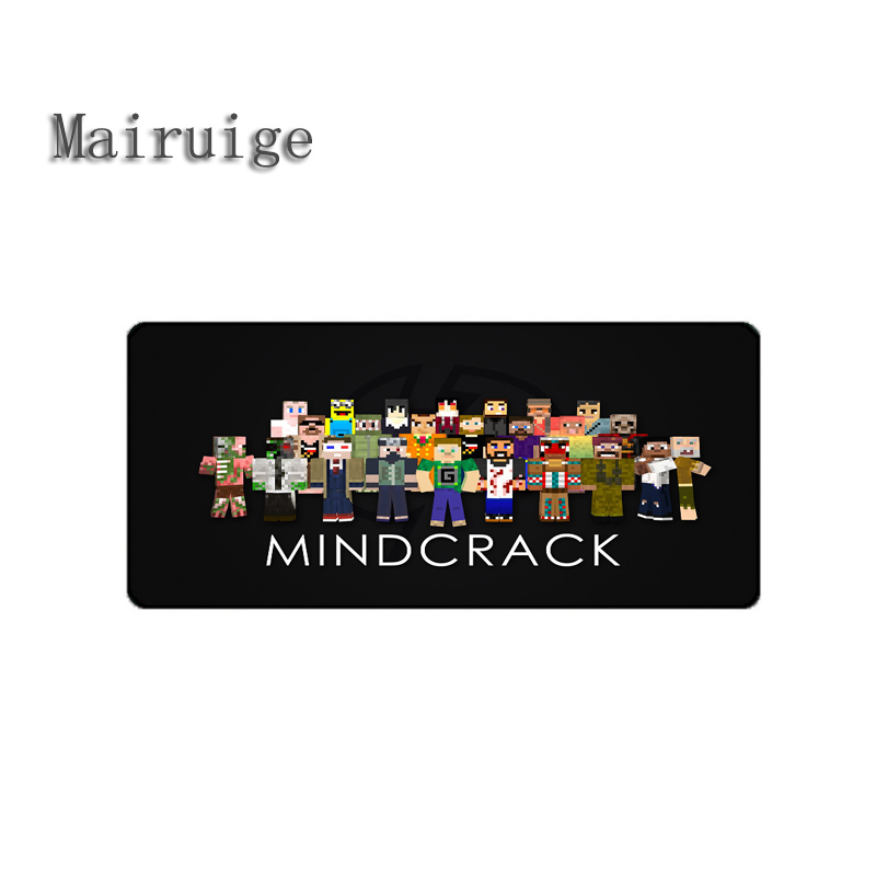 Mairuige High Quality Hot Selling Game Mousepad Minecraft Best Rubber Anti Slip Gaming Mouse Pad Durable Desktop Mousepad Diy