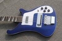 OEM Bass Guitar Rickenback 4003 midnight blue ricken bass electric guitar with 4 strings