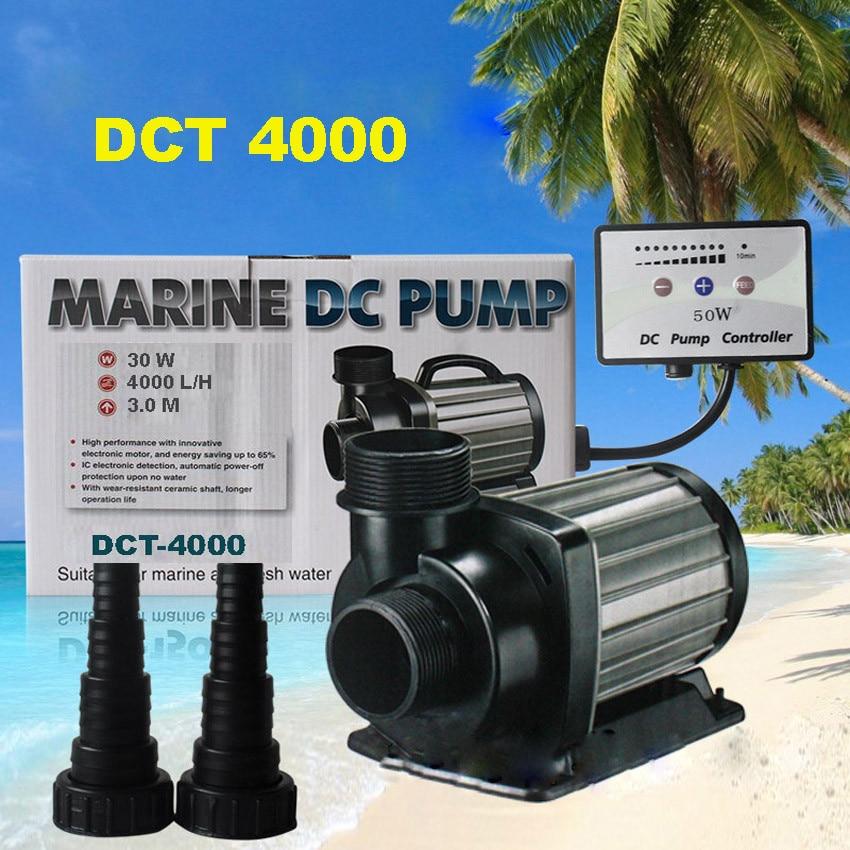 1 pc DCT 4000 30 W serie a portata variabile DC pompa acquario marino d'acqua dolce controllabile seduta pompa acqua