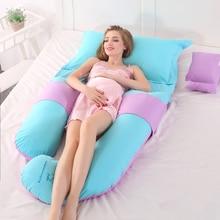 Мягкие подушки для беременных, для бокового сна, защита талии, хлопковая Подушка для беременных женщин, Подушка для беременных, кормящих грудью, подушка для сна