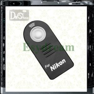 IR Infrared Wireless Remote Control Replace ML-L3 MLL3 for Nikon D610 D7500 D7200