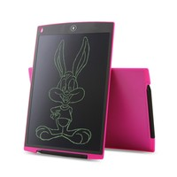 Howshow 12 LCD Writing Tablet Healthy Digital Handwriting Drawing Board With Stylus Pen Button Cell Battery