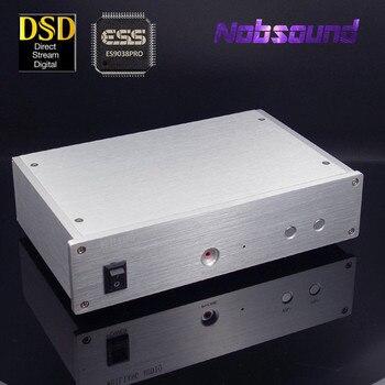 Nobsound HiFi DAC ES9028PRO/ES9038PRO +XMOS Asynchronous USB Decoder Headphone Amplifier