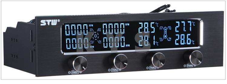 все цены на  STW 6041 5.25 Driver Place Fan Speed Controller LCD  онлайн