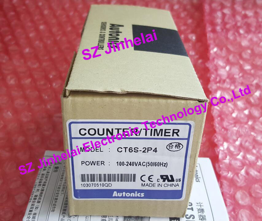 100%Authentic original CT6S-2P4 AUTONICS Count relay COUNTER/TIMER 100-240VAC цены