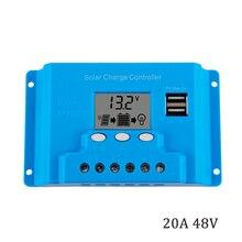 Controlador carregador solar tx4820 20a 48v, display lcd 100w 200w 300w 400w 500w 600w w painéis solares reguladores de carga com temporizador