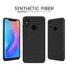 For Xiaomi mi 8 Case Cover Synthetic Fiber Phone Case For Xiaomi mi 8 NILLKIN Hard Cover High Quality Case For Xiaomi mi 8
