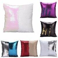 16 Magic Cushion Throw Case Pillow Sequins Sparkle Decorative Cover Home