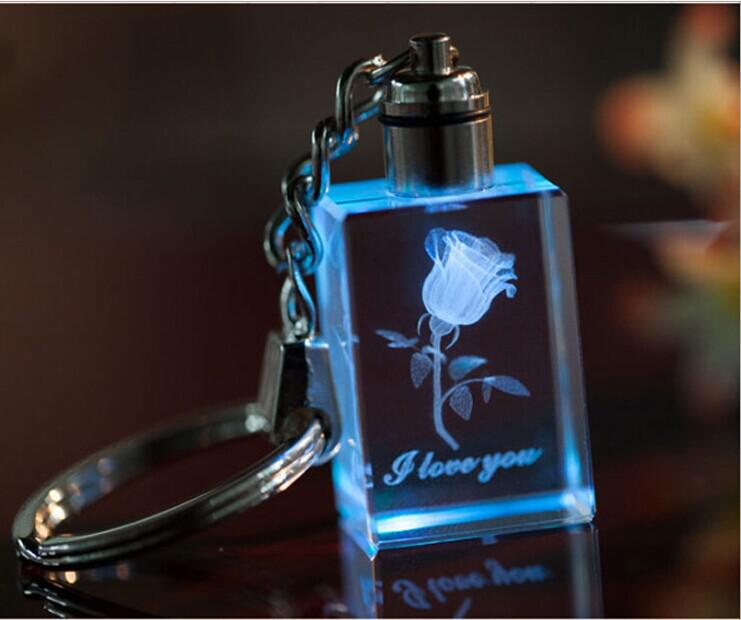 Personalizirani dizajn lasersko graviranje Crystal privjesak LED - Za blagdane i zabave - Foto 6
