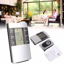 Buy online Indoor Outdoor Wireless 433MHz Weather Thermometer Humidity Alarm Clock Station