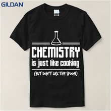 Band T Shirts Men's Humor Funny Quotes Chemistry Is Like O-Neck Short Design T Shirts