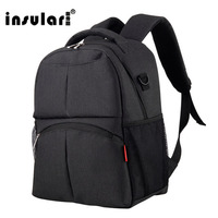 INSULAR Mother Baby Nappy Bags Large Capacity Backpack Mummy Bag