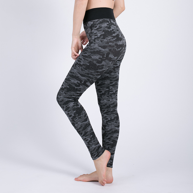 Derala 2018 Camo Print Stretched Camouflage   Leggings   Women Military Camouflage Pants Fitness   Legging   Knitted Leggins Dropshippig