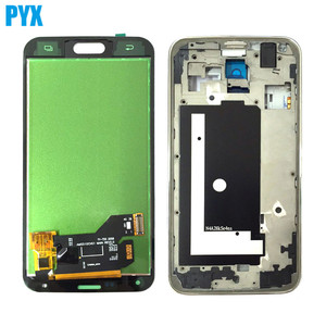 Image 2 - For Samsung Galaxy S5 G900 G900F LCD Display + Touch Screen Digitizer Assembly With Frame Black White Free Shipping