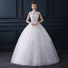 Женское свадебное платье it's yiiya Белое Бальное с рукавами