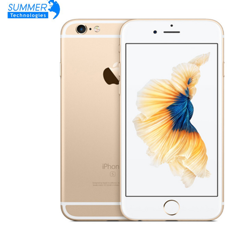 "Unlocked Apple iPhone 6S Original Mobile Phone 4.7"" IOS Dual Core A9 16/64/128GB ROM 2GB RAM 12.0MP 4G LTE IOS Smartphone(China)"