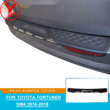 ABS bumper protector For Toyota Fortuner HILUX SW4 2015 2016 2017 2018 car styling accessories For toyota fortuner 2017 YCSUNZ chrome side door trim for toyota fortuner an160 hilux sw4 2015 2016 2017 car styling body cladding deflector accessories ycsunz
