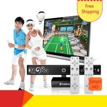 Marca recta campamento tecnología alien ET-71 smart HD deportes somatosensory máquina de juegos doble TV