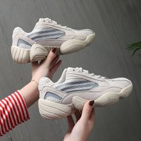 Fashion Sneaker Women Breathable Sport Casual Shoes Woman Bordered Platform Sneakers Walking Tennis Shoes Women trainers