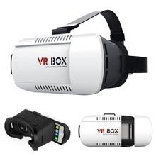 2016 Горячая VR VR Коробка 3D Очки Виртуальной Реальности Очки для iPhone Смартфон 3D Игры Виртуальной Реальности Очки Картона Фильм игры