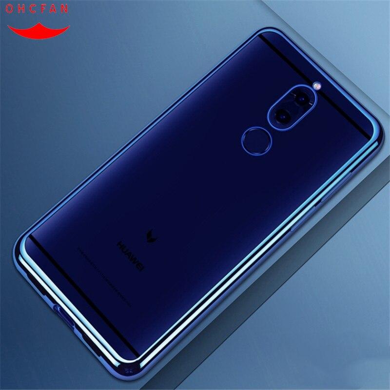 For Huawei Mate 10 lite case luxury soft tpu 360 full Protective back cover for huawei mate 10 lite / Huawei Nova 2i Honor 9i